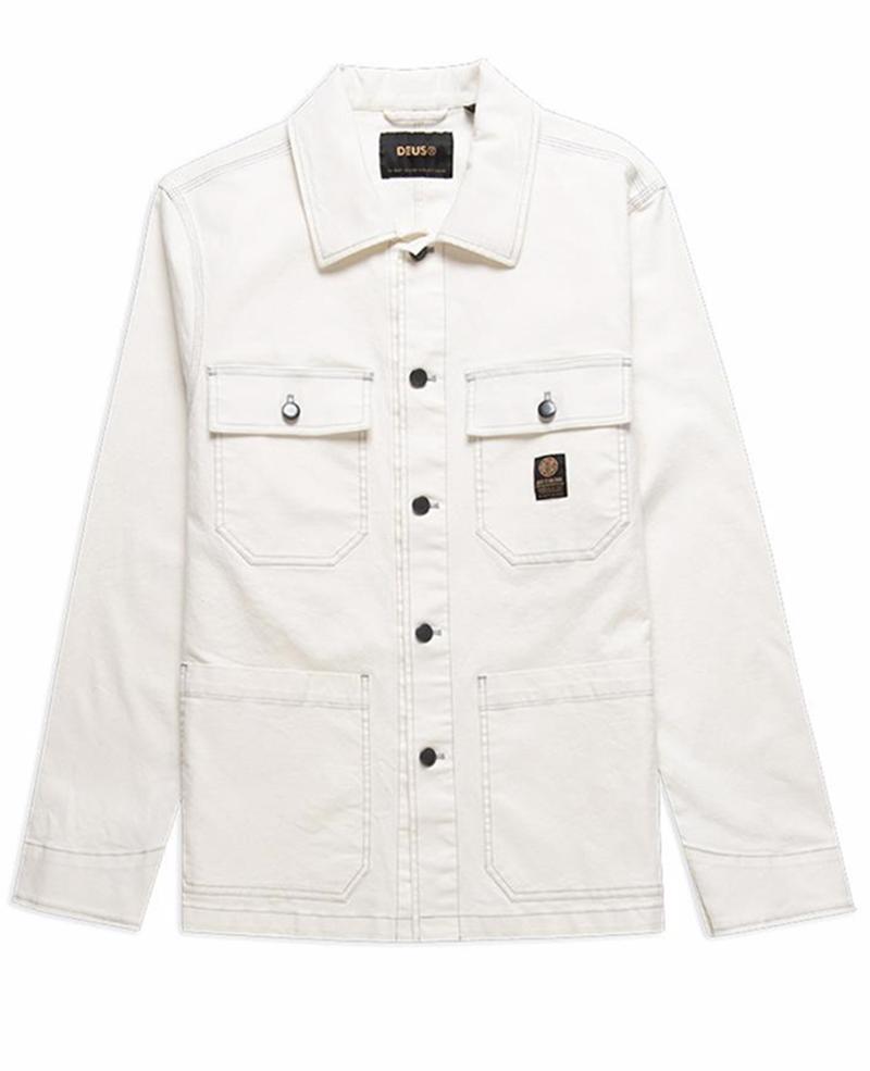 DMP205804 Mac work shirt dusty white